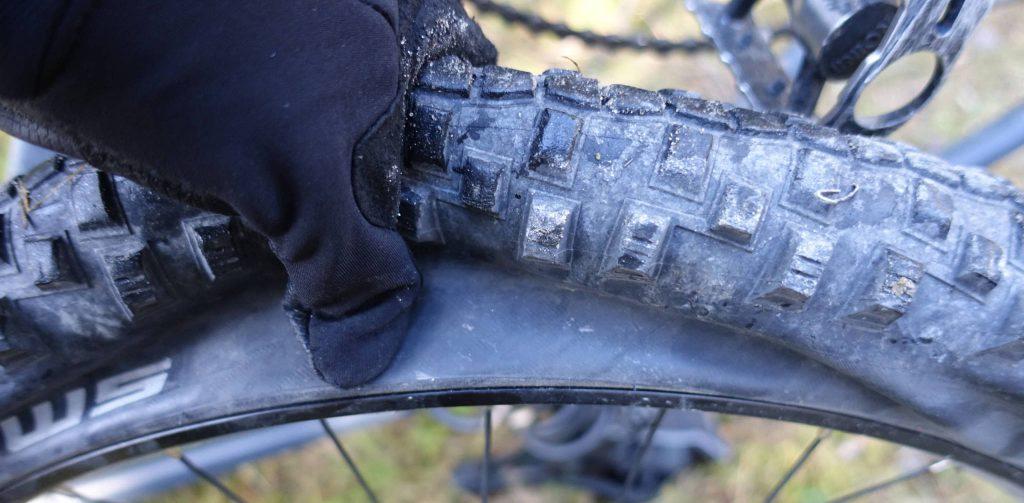 """So sieht ein nicht reparierbarer """"Patschen"""" aus. Foto: Martin Heppner"""