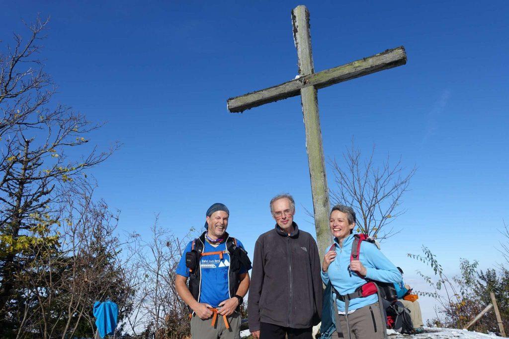 Erster gemeinsamer Gipfel Sieg: Gamsstein (1.273m)