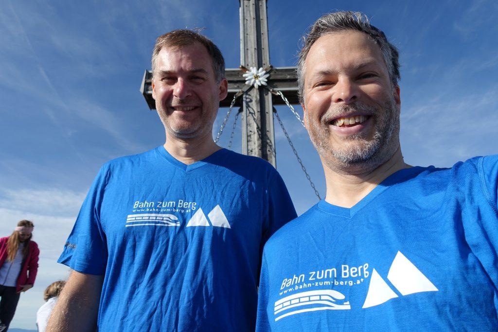 Am Gipfel der Hohen Veitsch. Foto: Martin Heppner