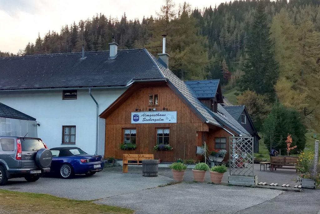 Alpengasthof Seebergalm. Foto: Martin Heppner