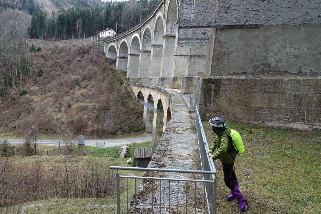 """Aussichtsplattform Viadukt """"Kalte Rinne"""""""