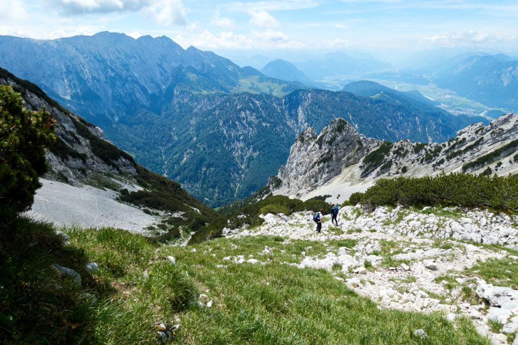 Abstieg Öchselweidkar (Foto: Martin Heppner)