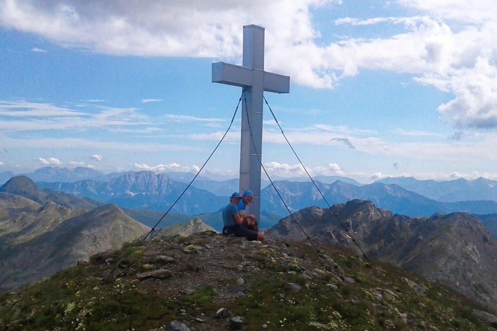Gipfelkreuz Zietenkopf. Foto: Petra Jens