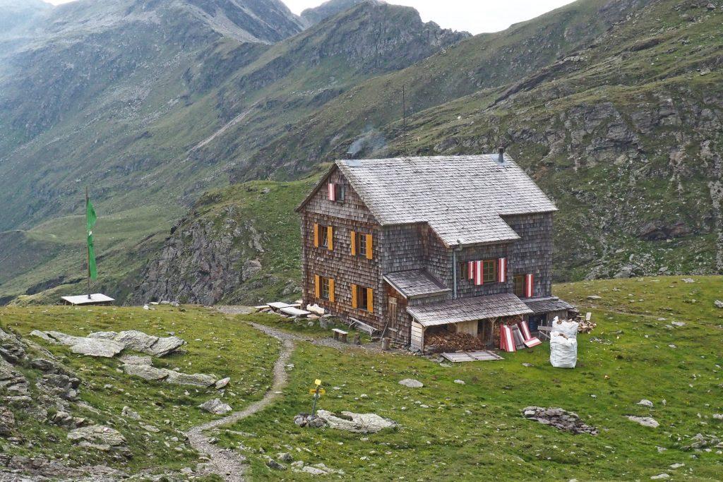 Hugo-Gerbers-Hütte. Foto: Petra Jens