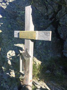 Kosakenkreuz an der Kreuzelscharte. Foto: Petra Jens