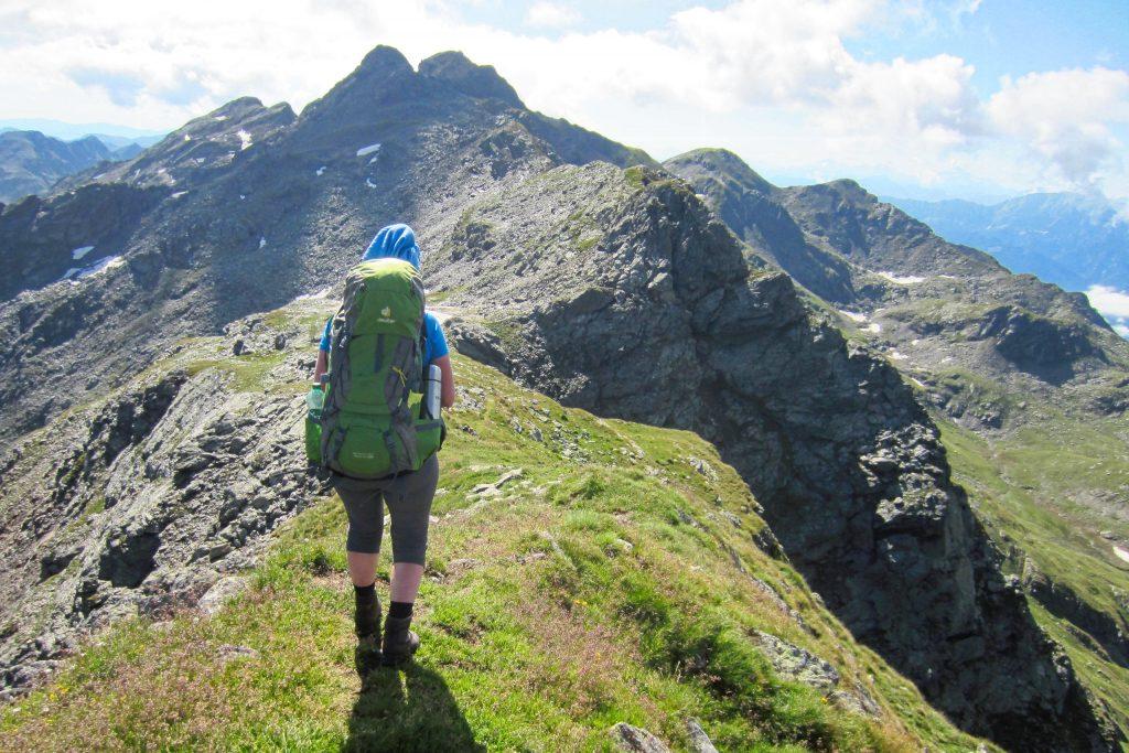 Aufstieg zum Hochkreuz. Foto: Petra Jens