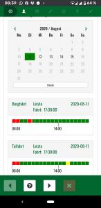 Screenshot Rax Seilbahn Onlineticket