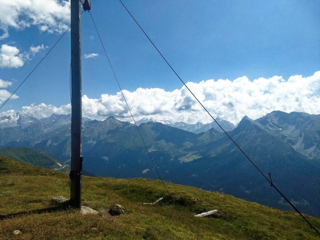 Am Gipfel des Hohen Lorenzenbergs. Fotos: Nikolaus Vogl.