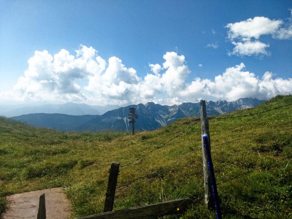 Am Portjoch, der Grenze zu Südtirol. Foto: Nikolaus Vogl