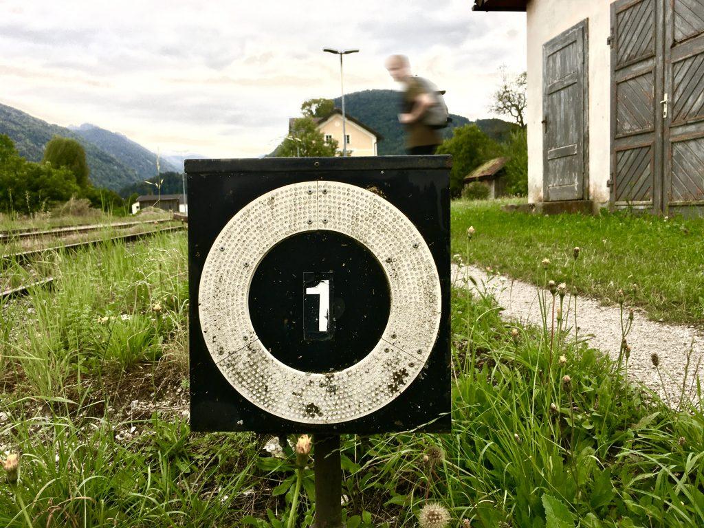 1 tolle Wanderung endet. Foto: Stefan Hochhold