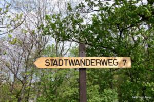 Stadtwanderweg 7. Foto: Martin Heppner