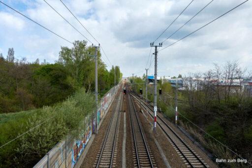 Bahnstrecke. Foto: Martin Heppner