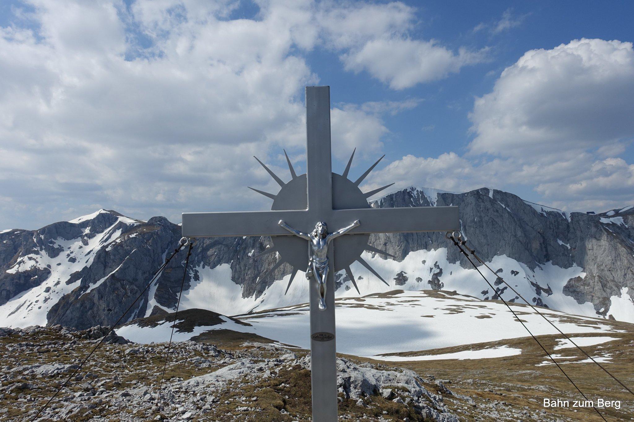 Gipfelkreuz Karlhochkogel