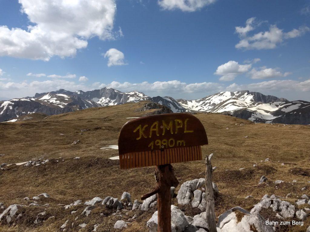 Gipfel Kampl