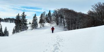 Schneeschuhwanderung Eisenstein