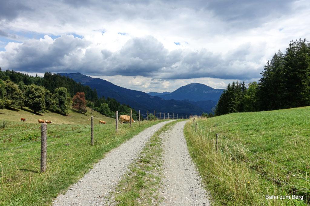 Abfahrt Richtung Schweizgraben