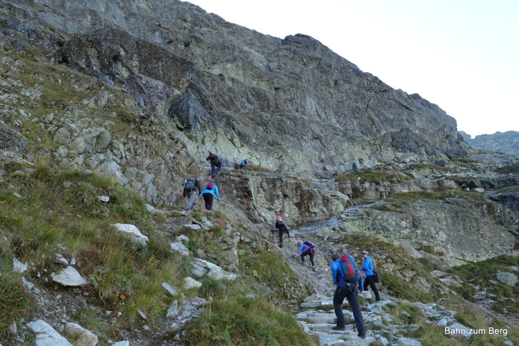 Versicherte Kletterstelle