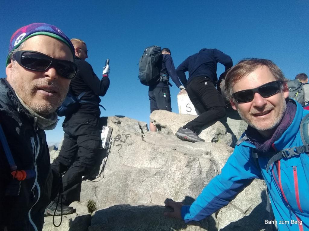 Am höchsten Gipfel Polens, dem Rysy