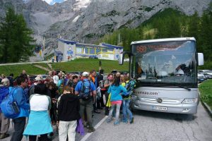 Linienbus 960 nach Ramsau, bzw. Schladming. © 2015 HM