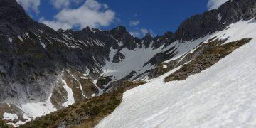 Bergtour auf die Blisadona von Langen am Arlberg