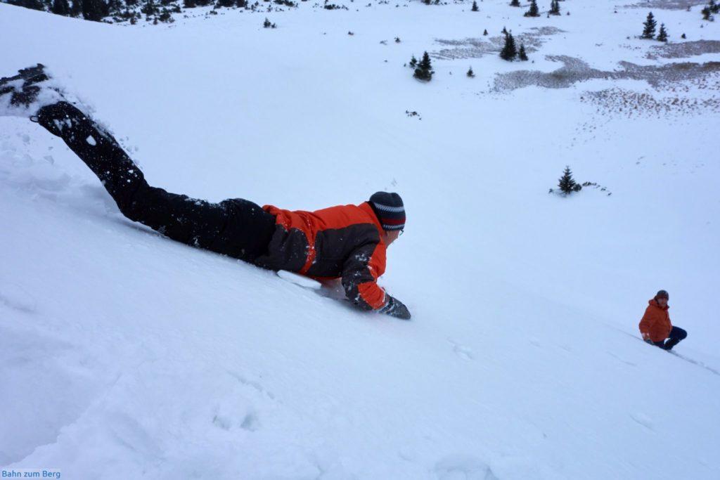 Spass im Schnee. Foto: Martin Heppner