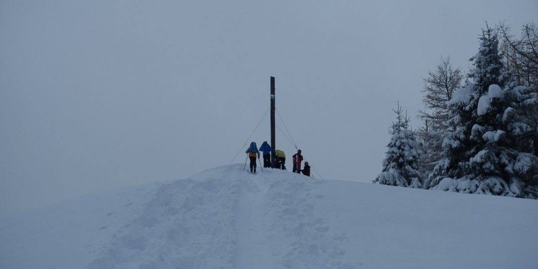 Gipfel Erzkogel (1.504m)