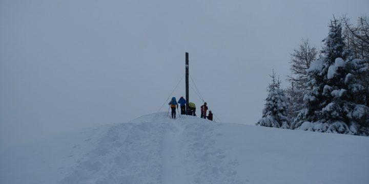 Öffi Skitour auf den Sonnwendstein