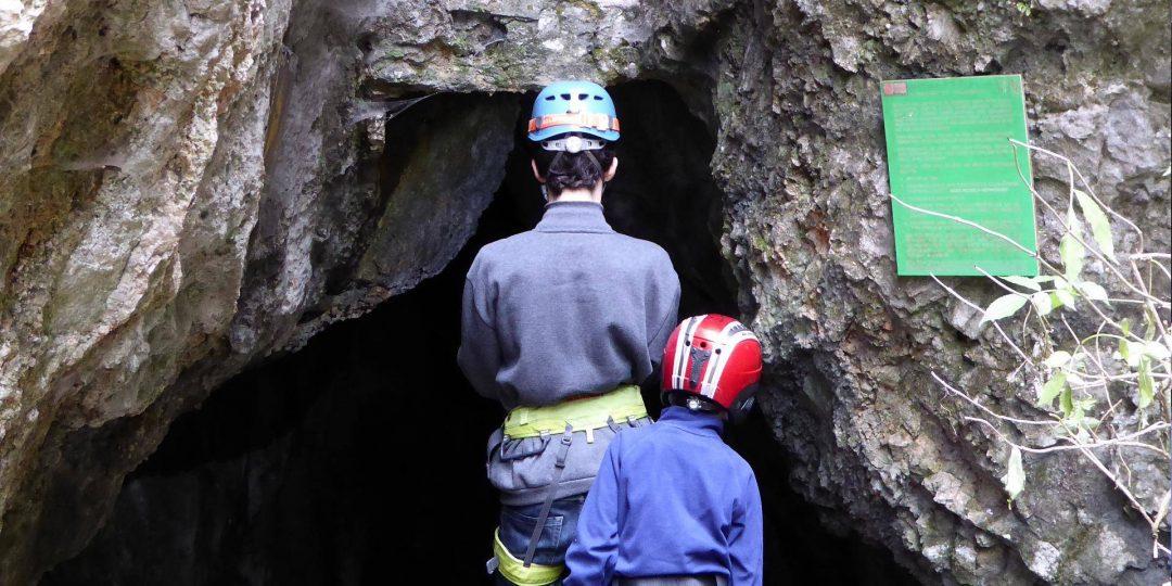 Eingang Waldegger Tropfsteinhöhle