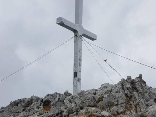 Gipfelkreuz Mittagskogel. Foto: Julian Kleinknecht