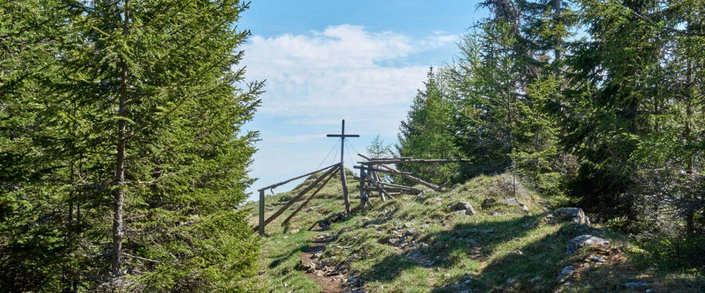 Gipfelkreuz Scharfes Eck