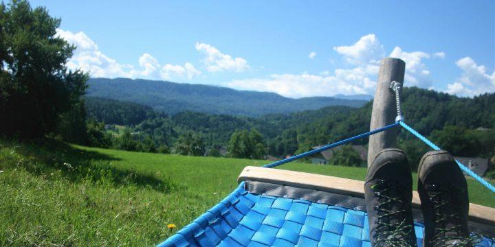 Sommerwanderung auf dem Schaukelweg