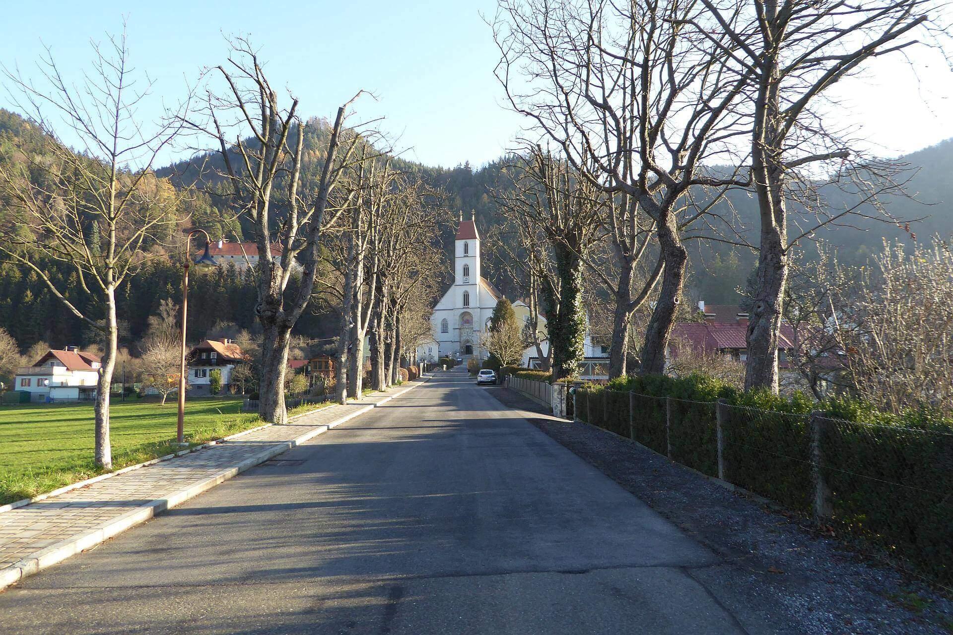Kirche Pernegg an der Mur