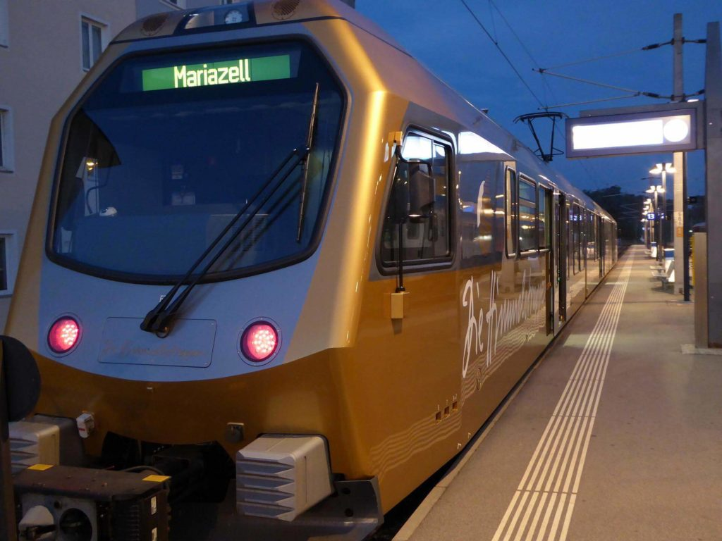 Mariazellerbahn - Die Himmelstreppe. Foto: Martin Heppner