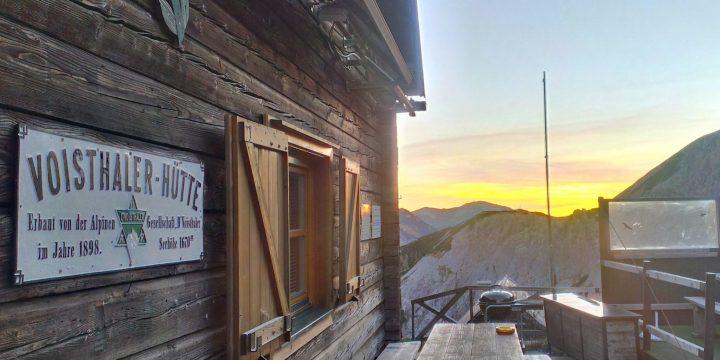 Saisonauftakt Voisthalerhütte