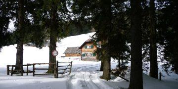 Schneeschuhtour auf den Kreuzschober