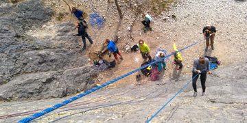 In den Klettergarten mit Kernzone 100