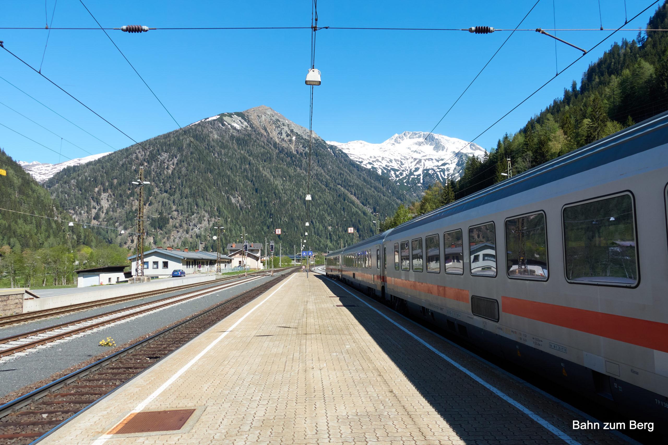 Bahnhof Mallnitz. Foto: Martin Heppner