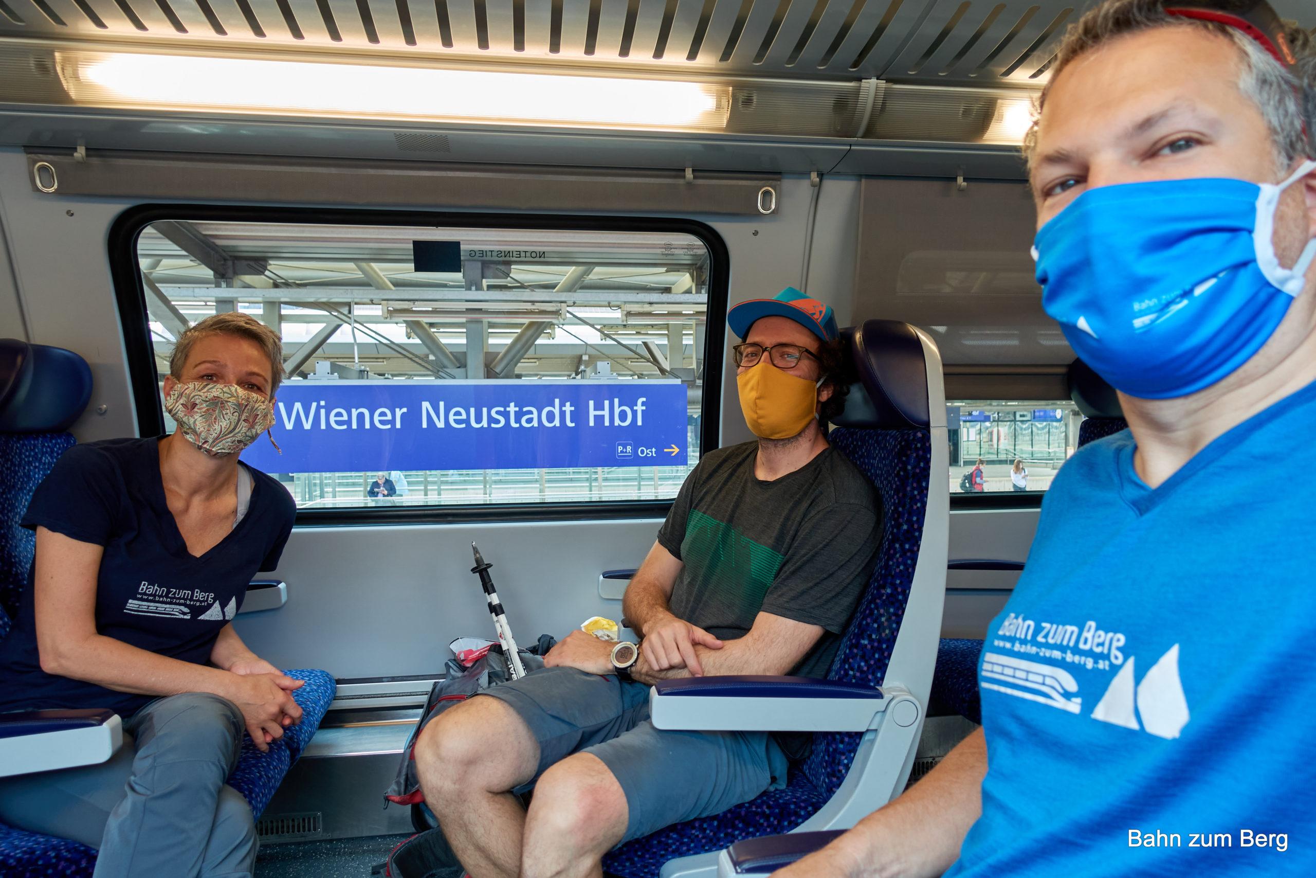 Anreise per Bahn. Foto: Martin Heppner