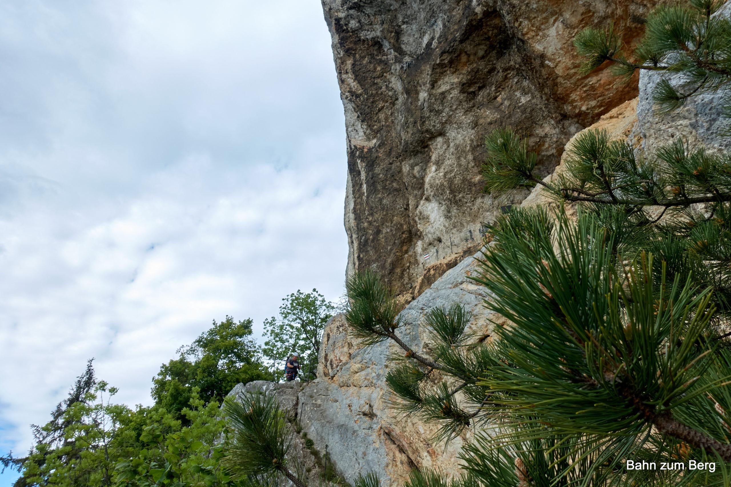 Karnischstüberl von unten. Foto: Martin Heppner