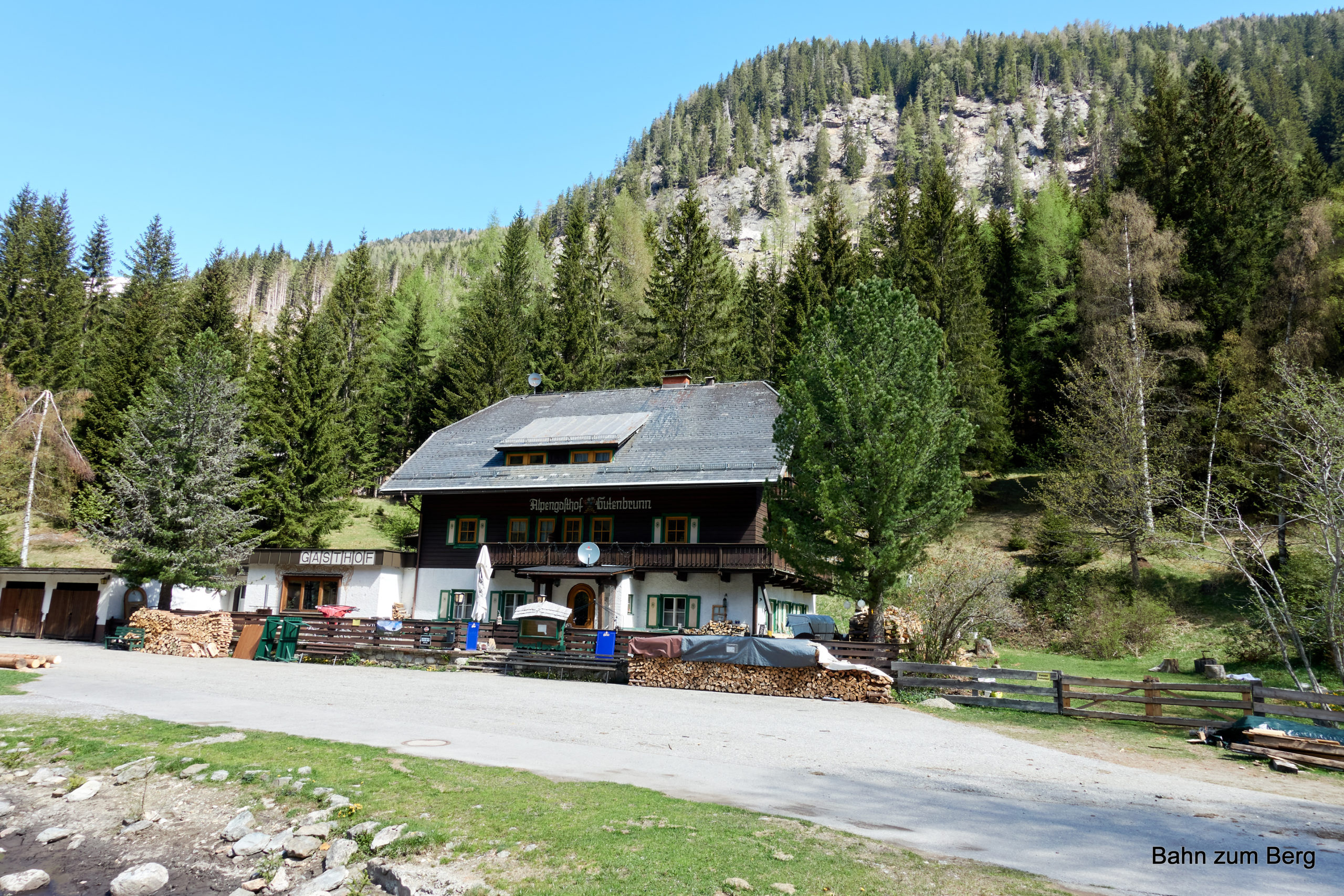 Alpengasthof Gutenbrunn. Foto: Martin Heppner