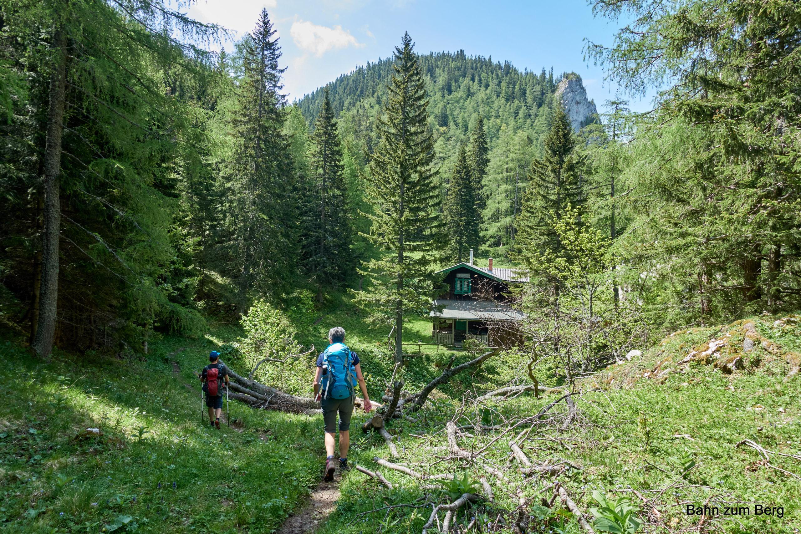 Gamseckerhütte. Foto: Martin Heppner