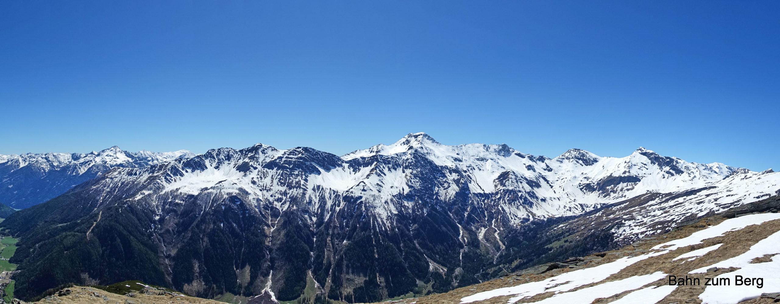 Panorama Kreuzeckgruppe. Foto: Martin Heppner