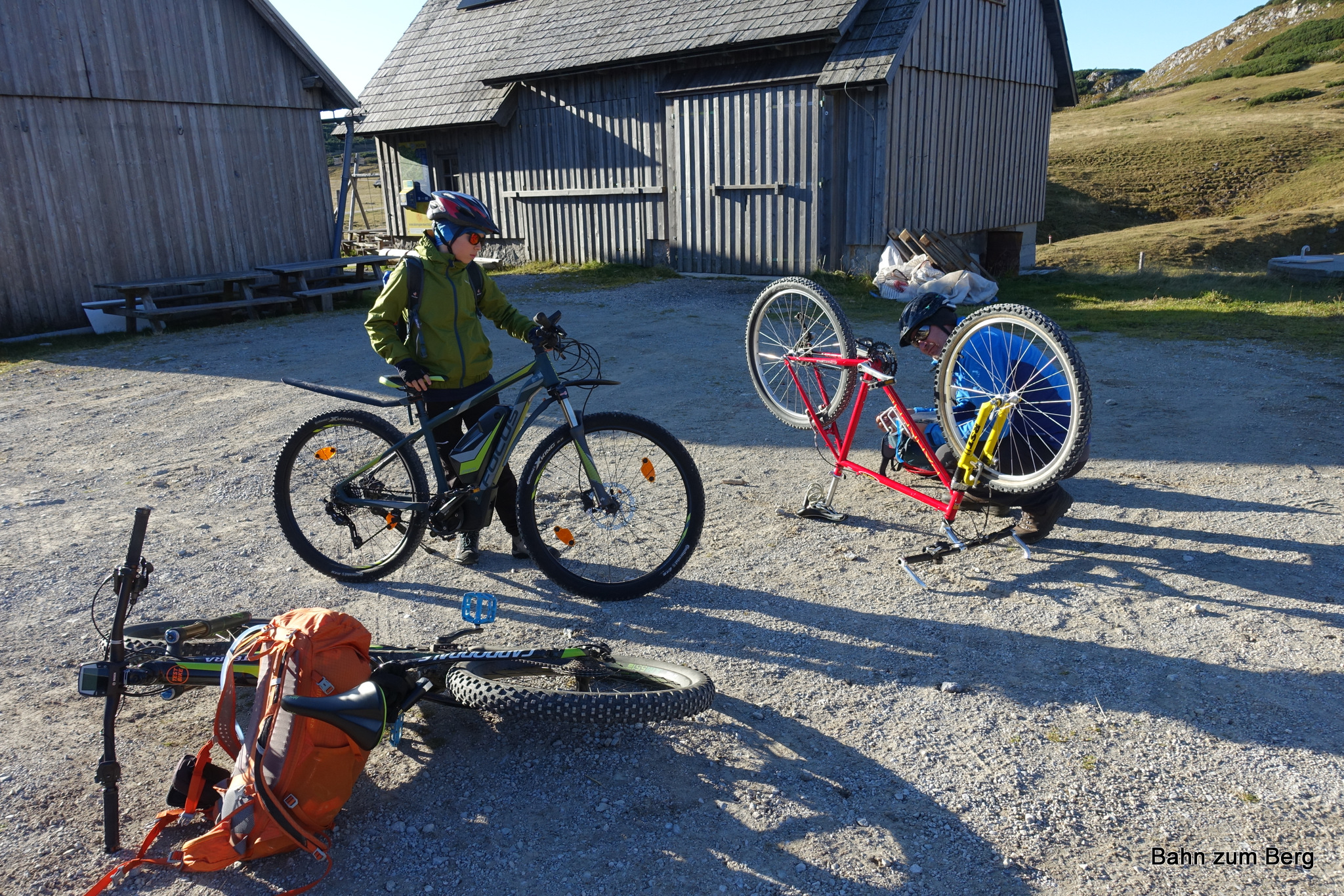 Mein altes Mountainbike braucht Zuwendung