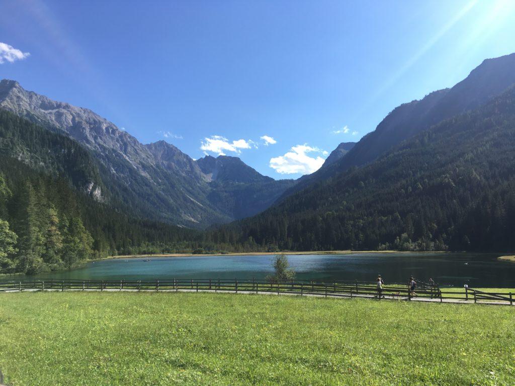 Der wunderschöne Jägersee in Kleinarl. Foto Christian Steiner