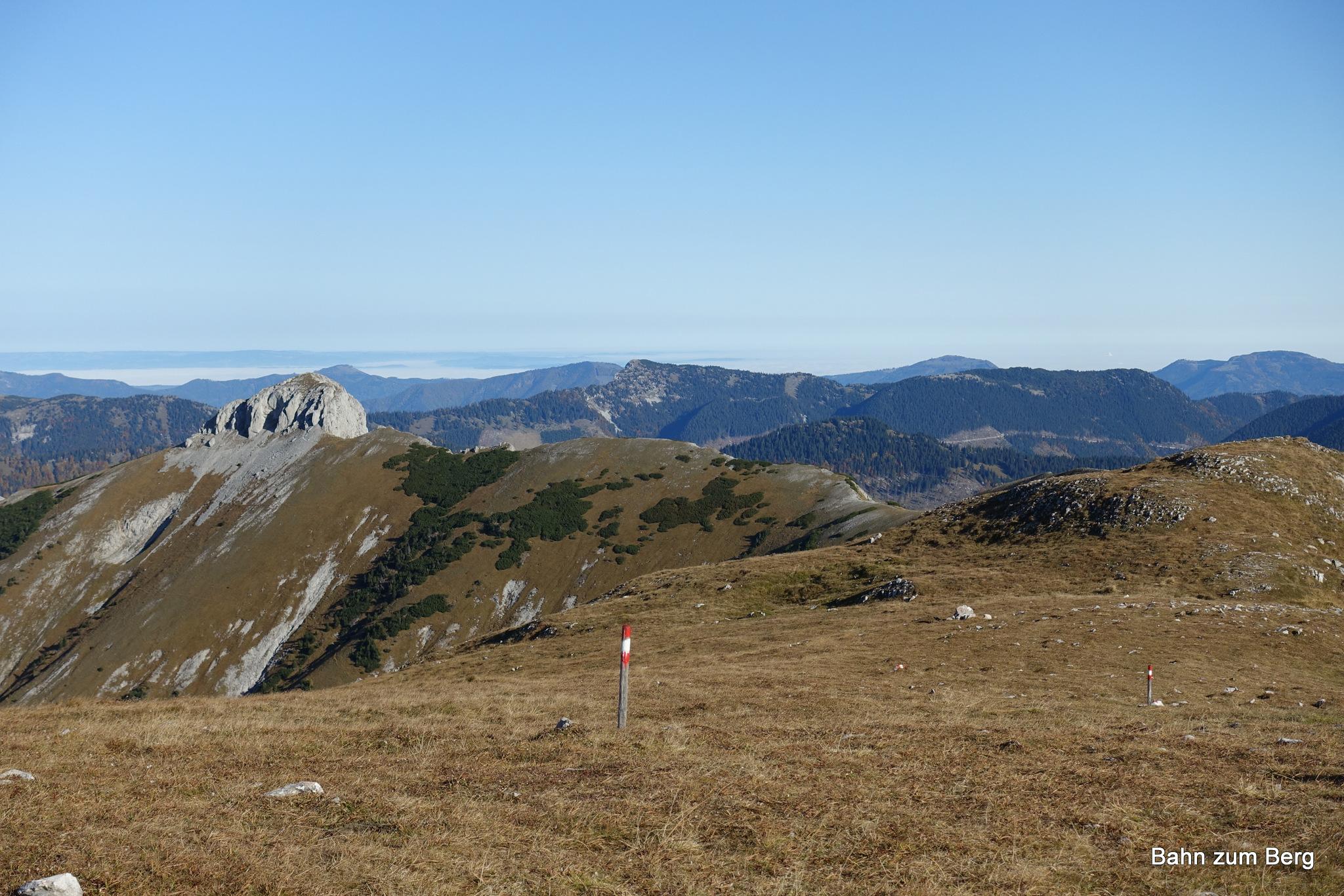 Blick vom Windberg Richtung Kleine Mitterbergwand