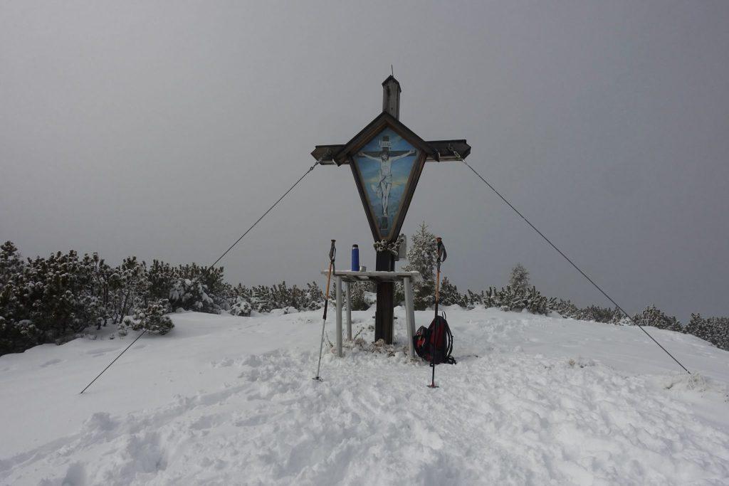 Gipfel Pleschberg. Foto: Peter Backé
