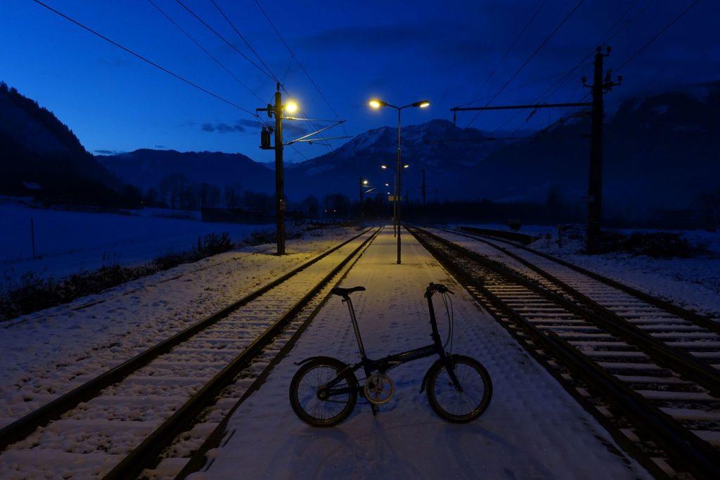 Zurück beim Bahnhof Ardning. Foto: Peter Backé