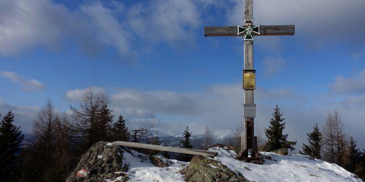 Wintersonnenschein in den Seetaler Alpen