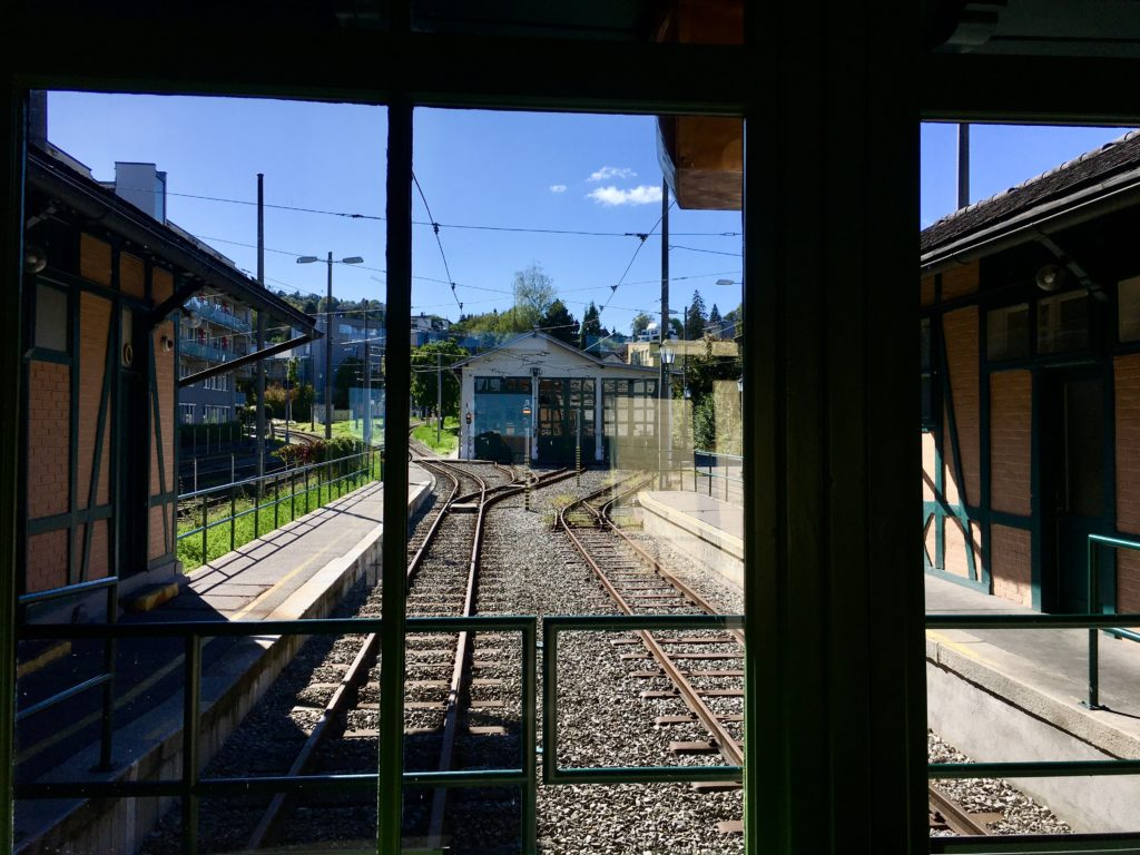 Das Museum der Pöstlingbergbahn. Foto: Stefan Hochhold