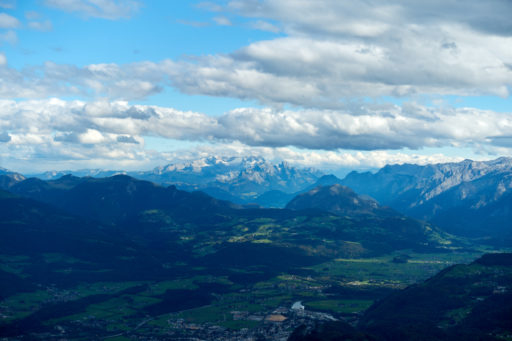 Gipfelblick zum Dachstein. Foto: Martin Heppner